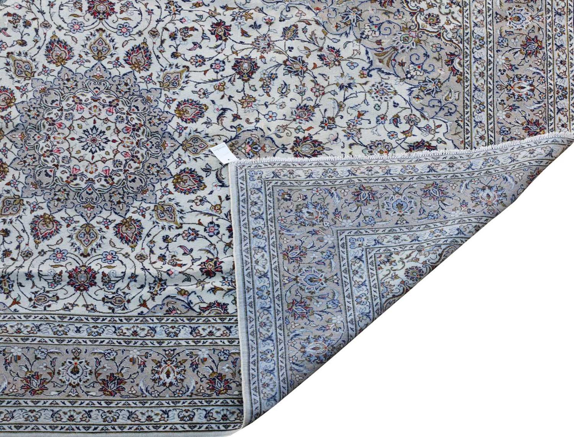 A Persian Kashan carpet, - Image 2 of 4