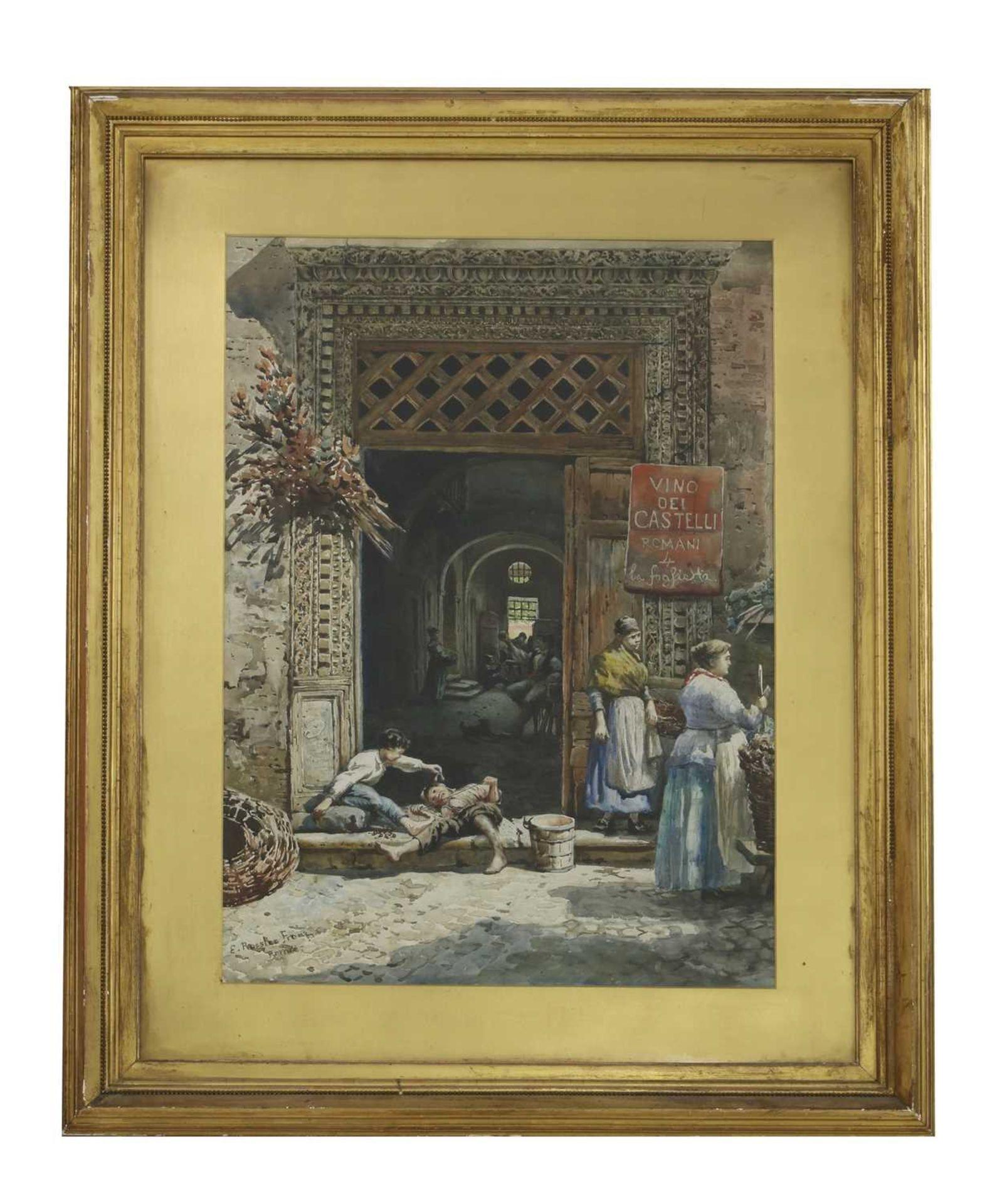 Ettore Roesler Franz (Italian, 1845-1907) - Image 3 of 10