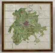 'Roma-Pianta Topografica del Suburbano di Roma 1839',