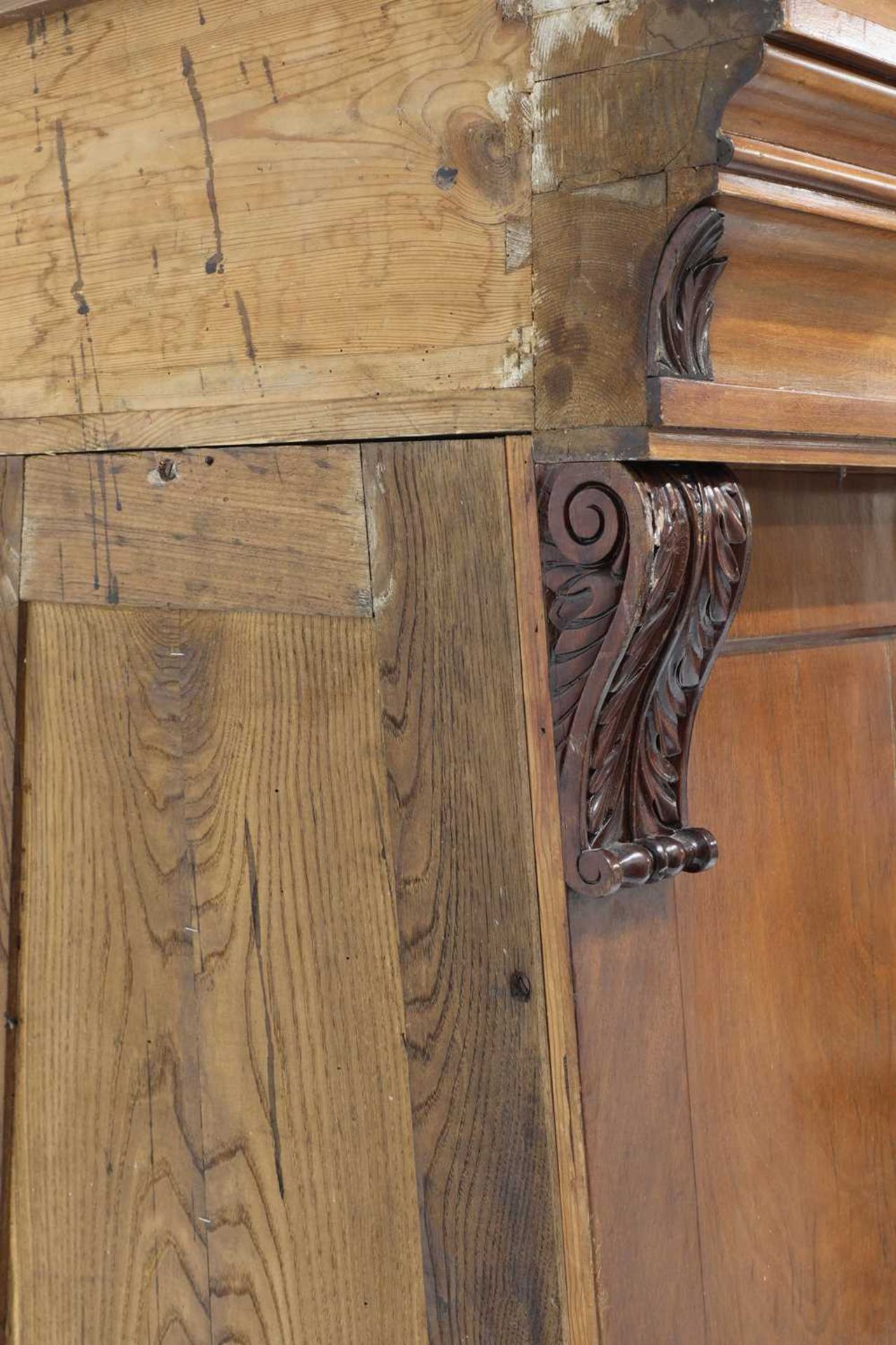 A pair of Victorian mahogany library bookcase pedestals, - Image 13 of 13