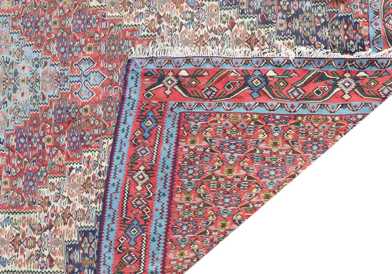 A Persian Senneh kilim, - Image 2 of 2