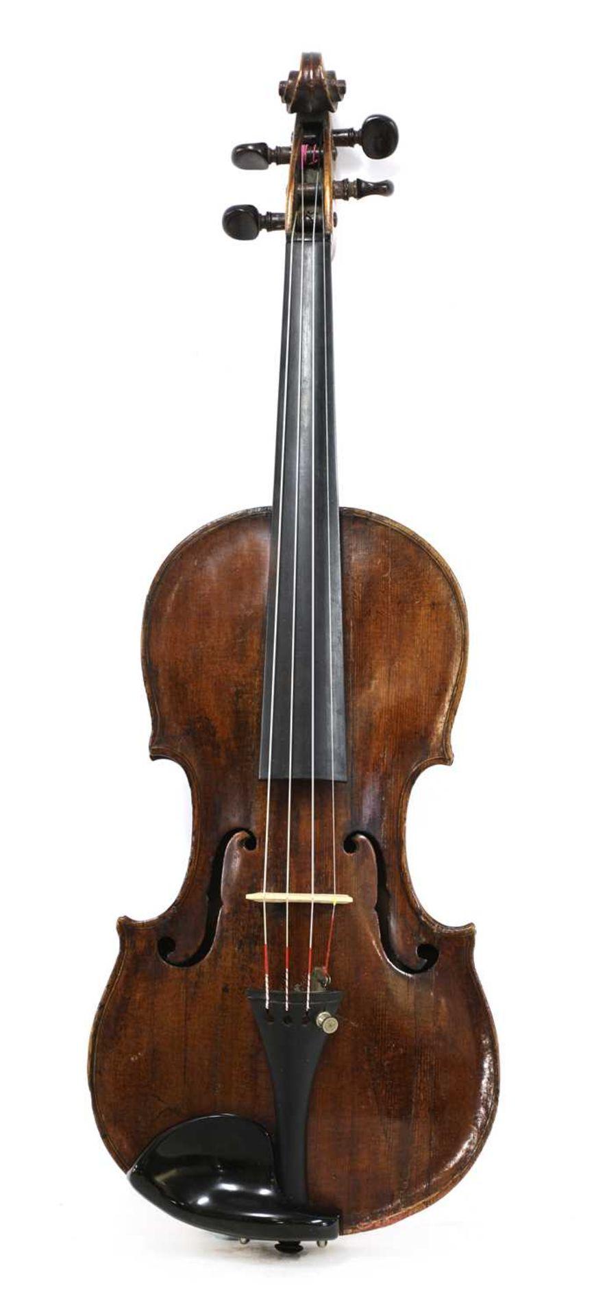 A violin,