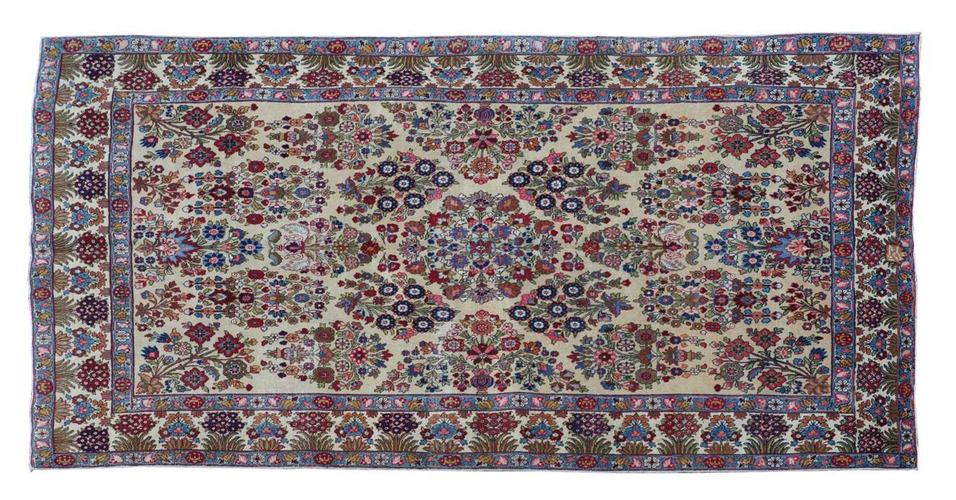 A Persian Tabriz carpet,