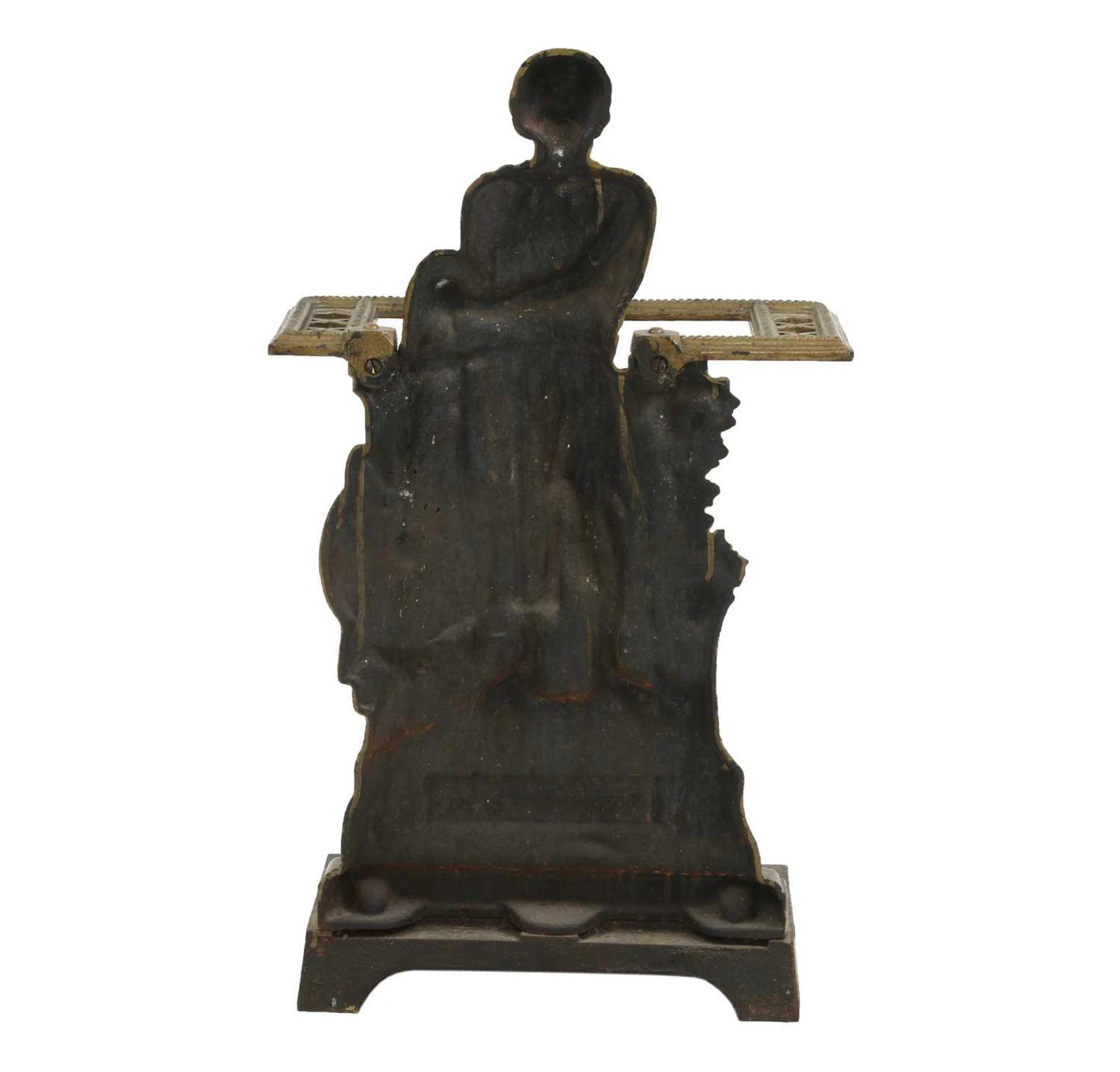 A Scottish cast iron stick stand, - Image 3 of 3