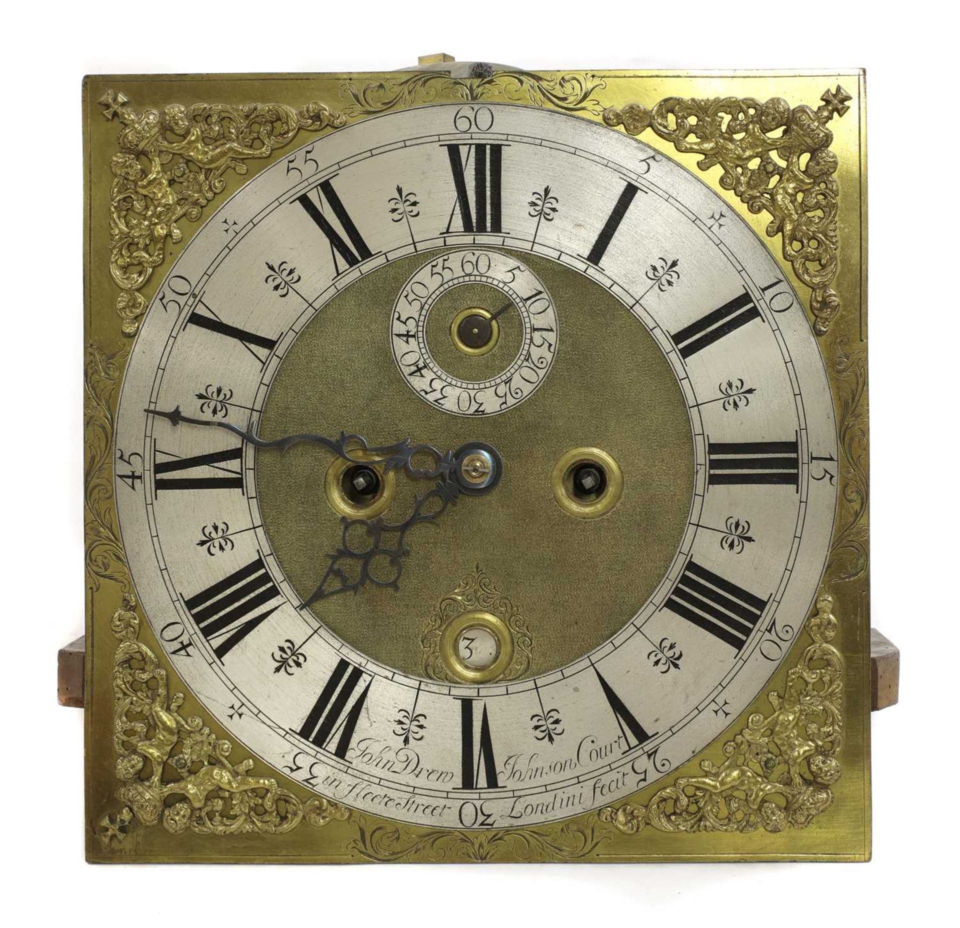 A seaweed marquetry and walnut longcase clock, - Image 3 of 24