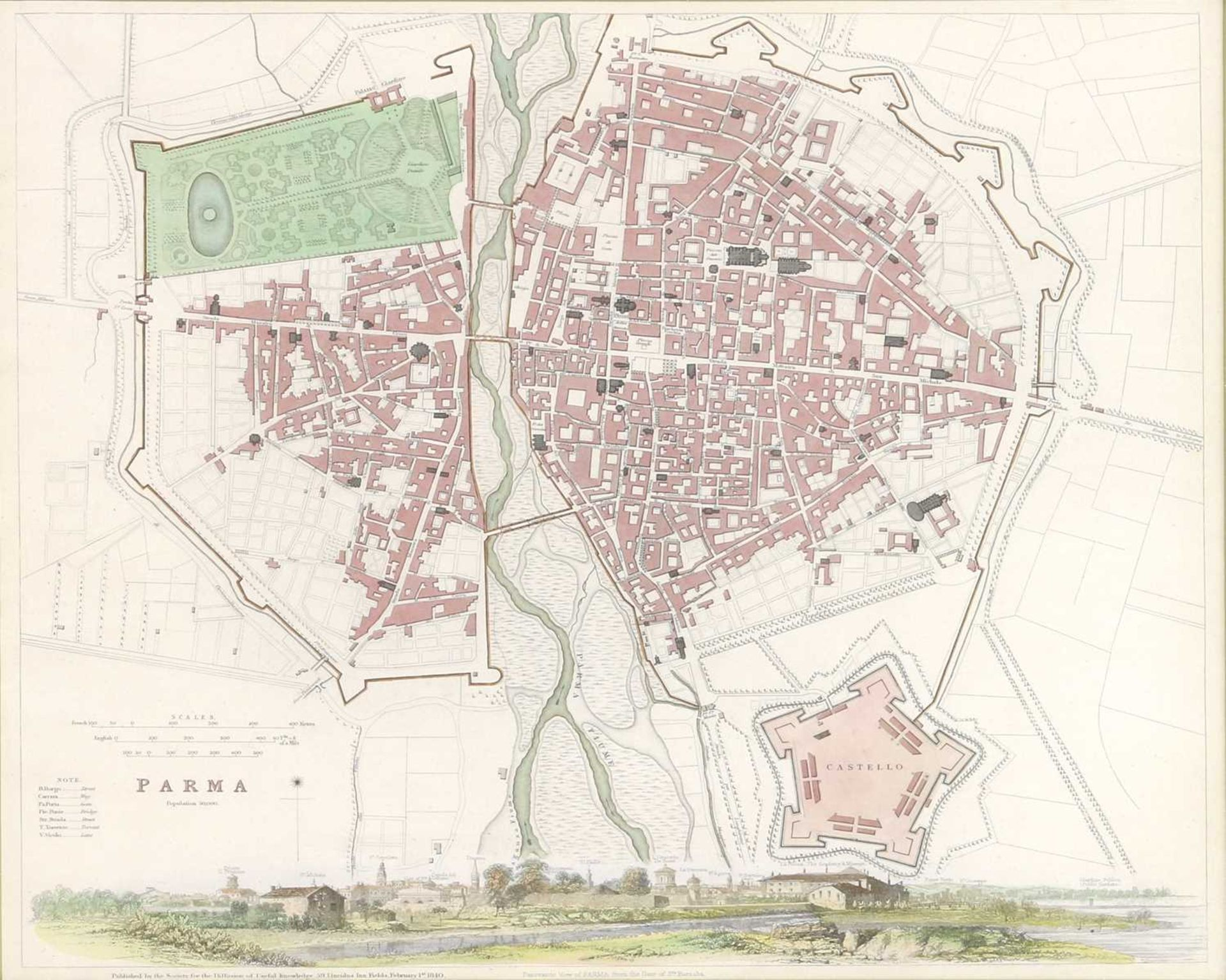 Four maps of Italian cities - Image 3 of 12