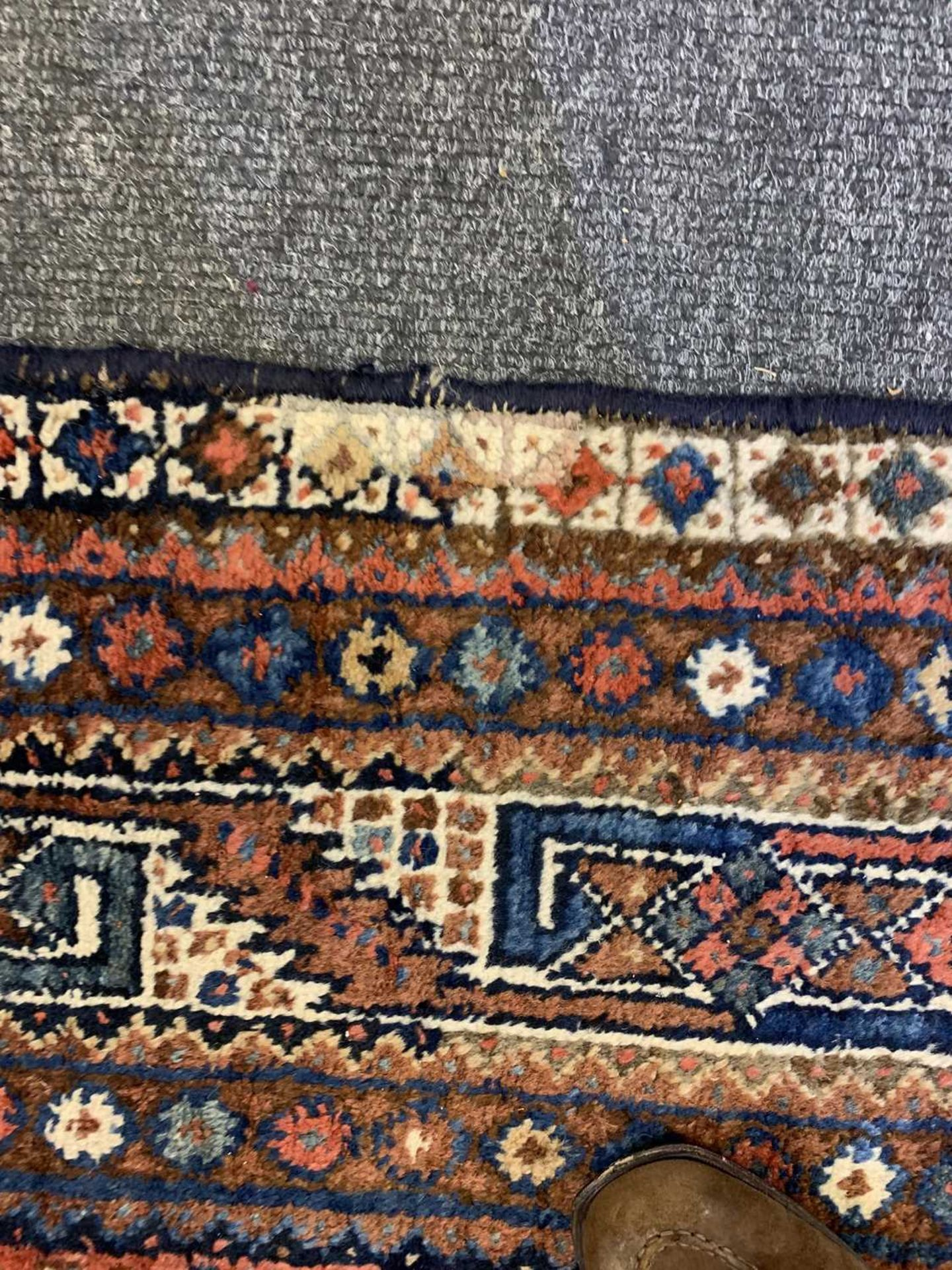 A South West Persian Khamseh carpet, - Image 14 of 17