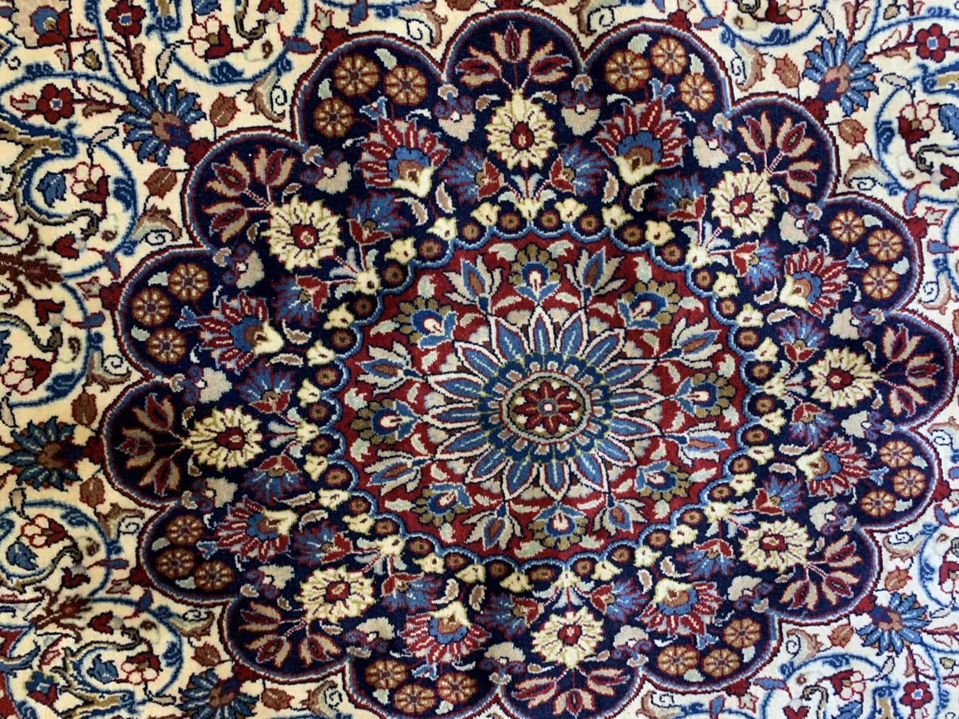 A large Persian Khorassan carpet, - Image 13 of 17
