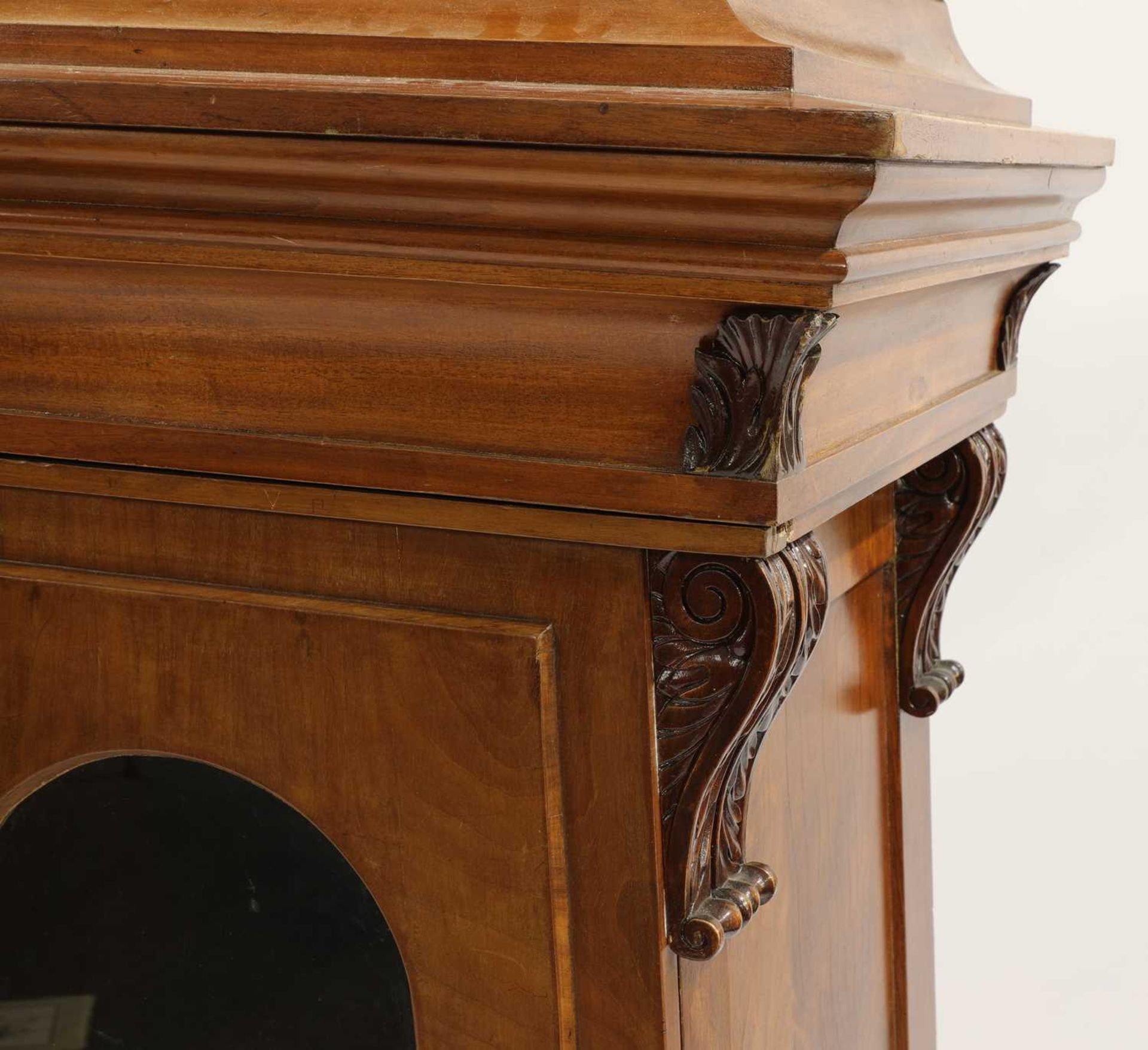 A pair of Victorian mahogany library bookcase pedestals, - Image 4 of 13