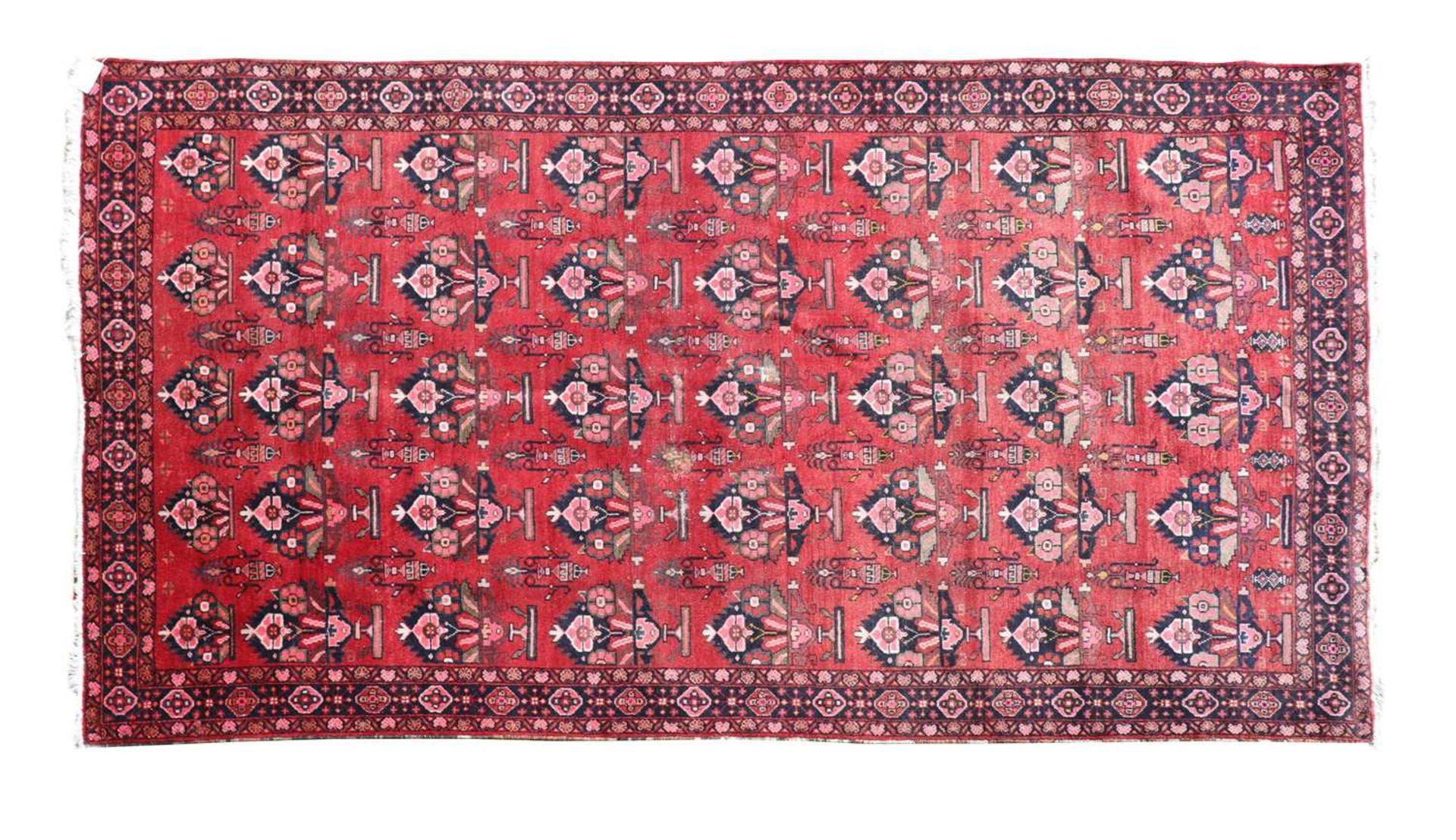 A Persian Hamadan carpet,