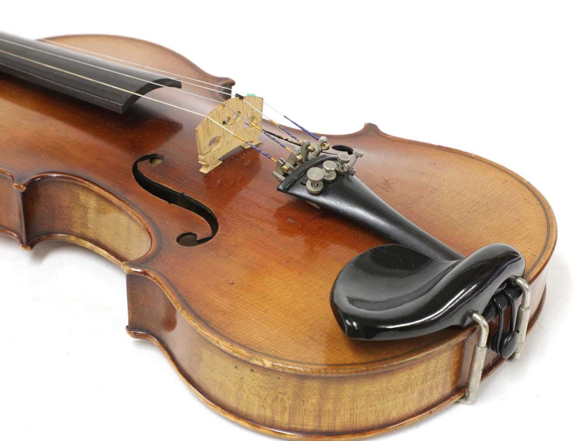 A Continental violin, - Image 6 of 7