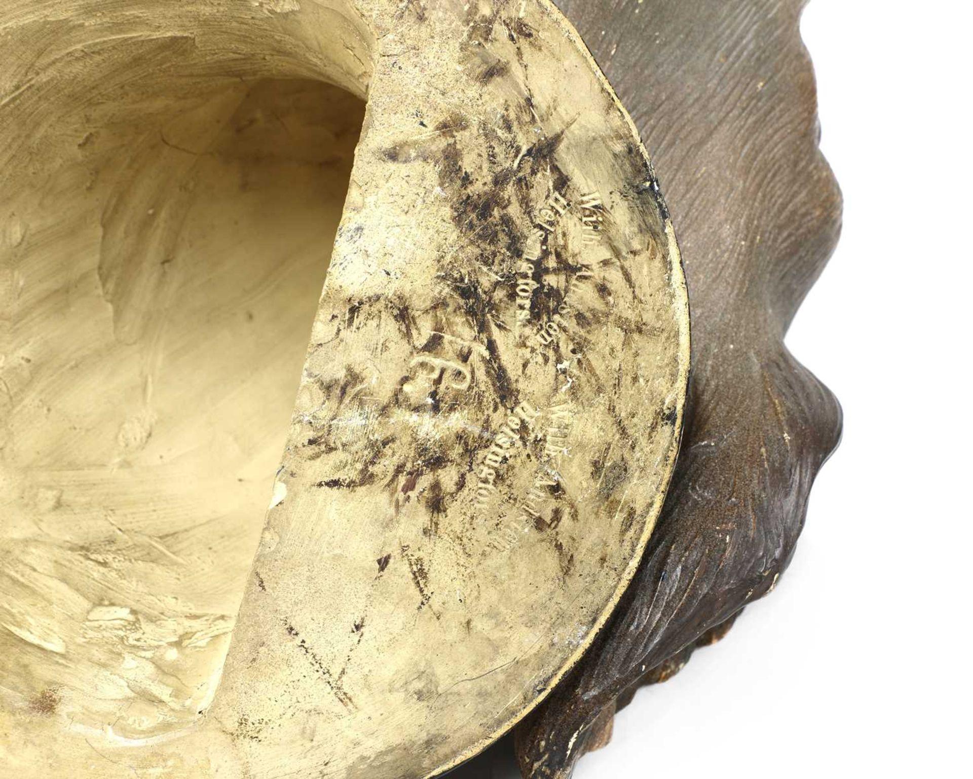 A Finnish terracotta dog's head, - Image 4 of 4