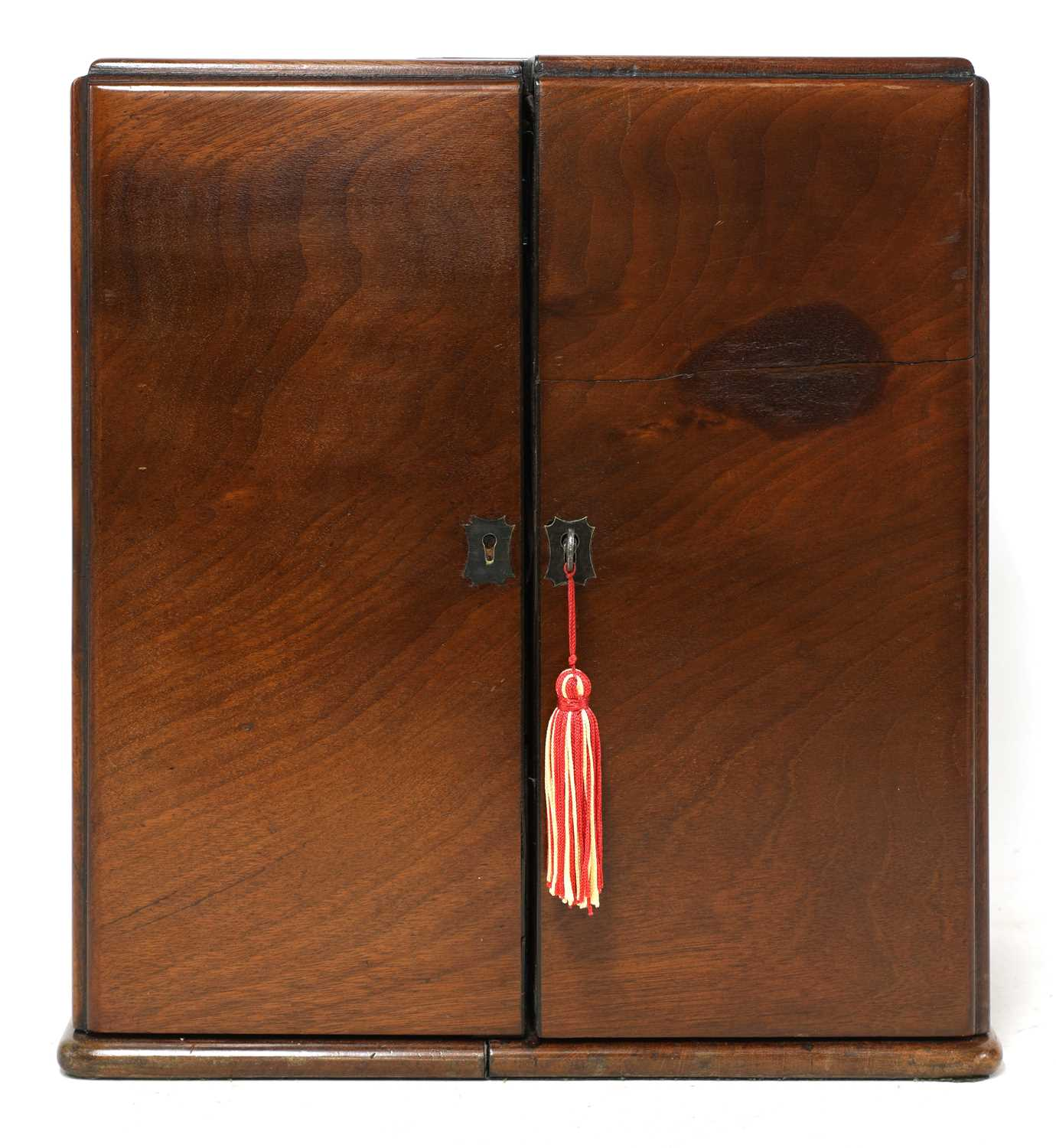 A mahogany cased travelling apothecary cabinet, - Image 5 of 5