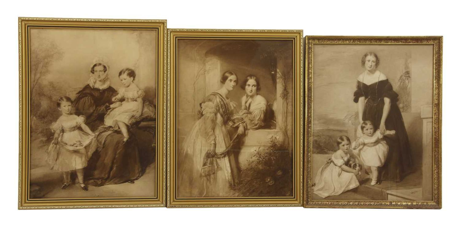 A collection of lithographic and photogravure portraits - Image 6 of 8