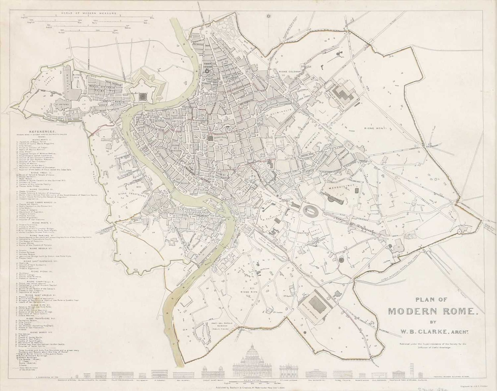 Four maps of Italian cities - Image 4 of 12