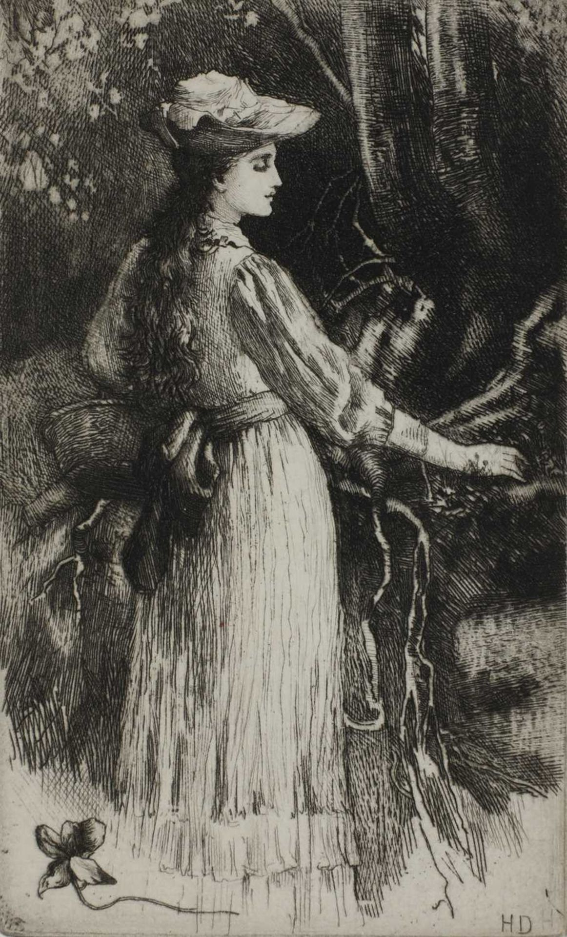 Herbert Thomas Dicksee RE (1862-1942) - Image 9 of 9