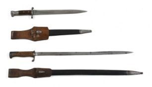 An 1888 pattern SMLE bayonet by Mole,