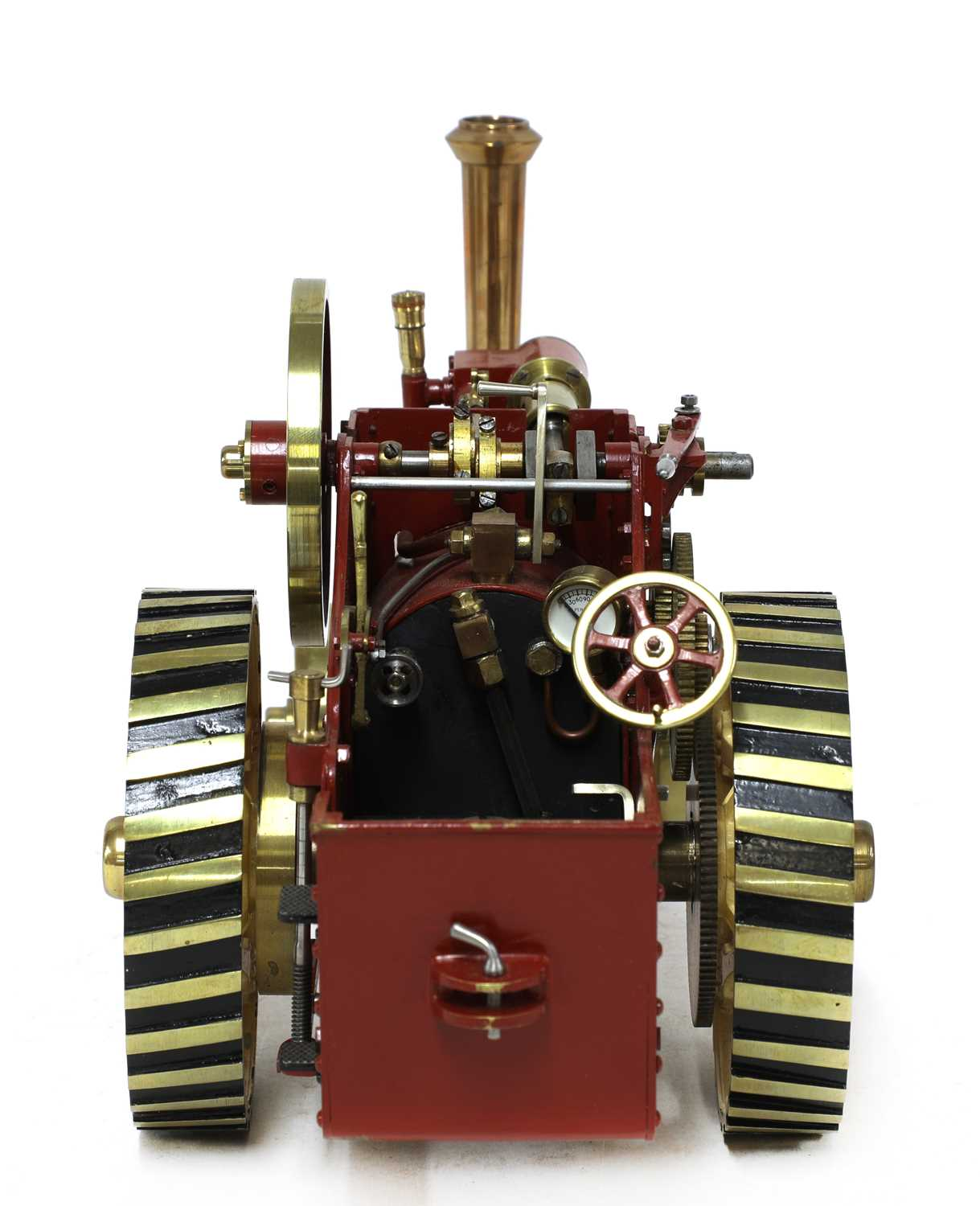 A ¾in scale model Burrell-type live steam traction engine, - Image 4 of 7
