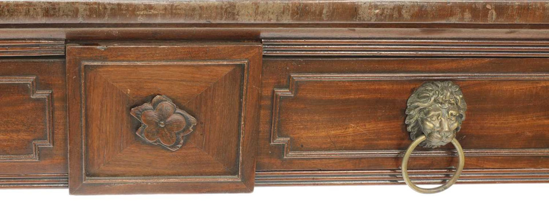 A Regency mahogany breakfront sideboard, - Image 6 of 7