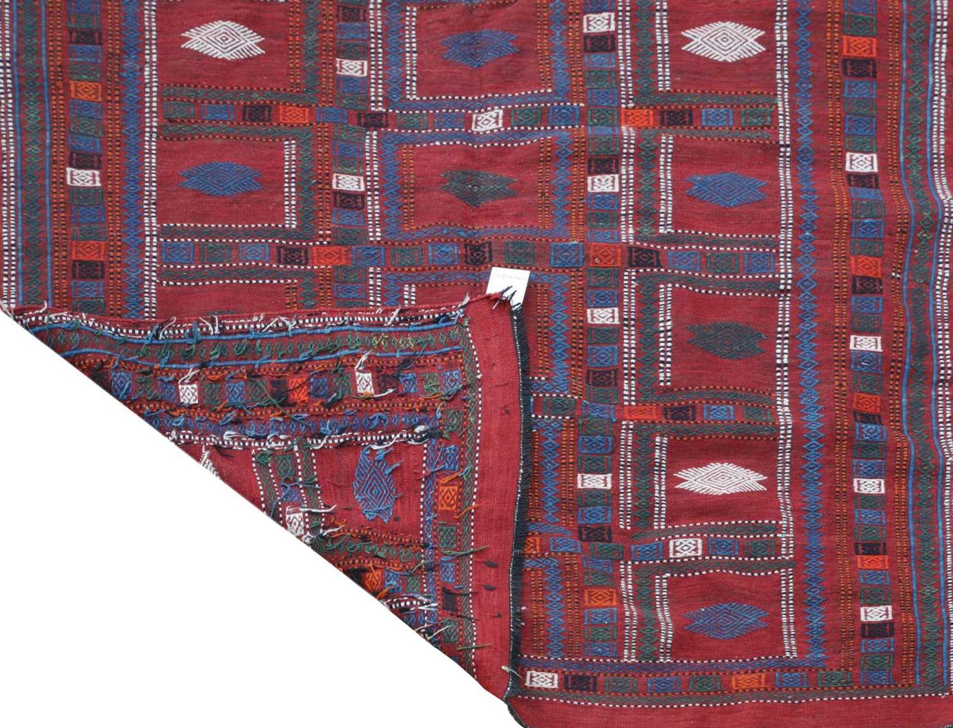 An Azerbaijan kilim, - Image 2 of 3