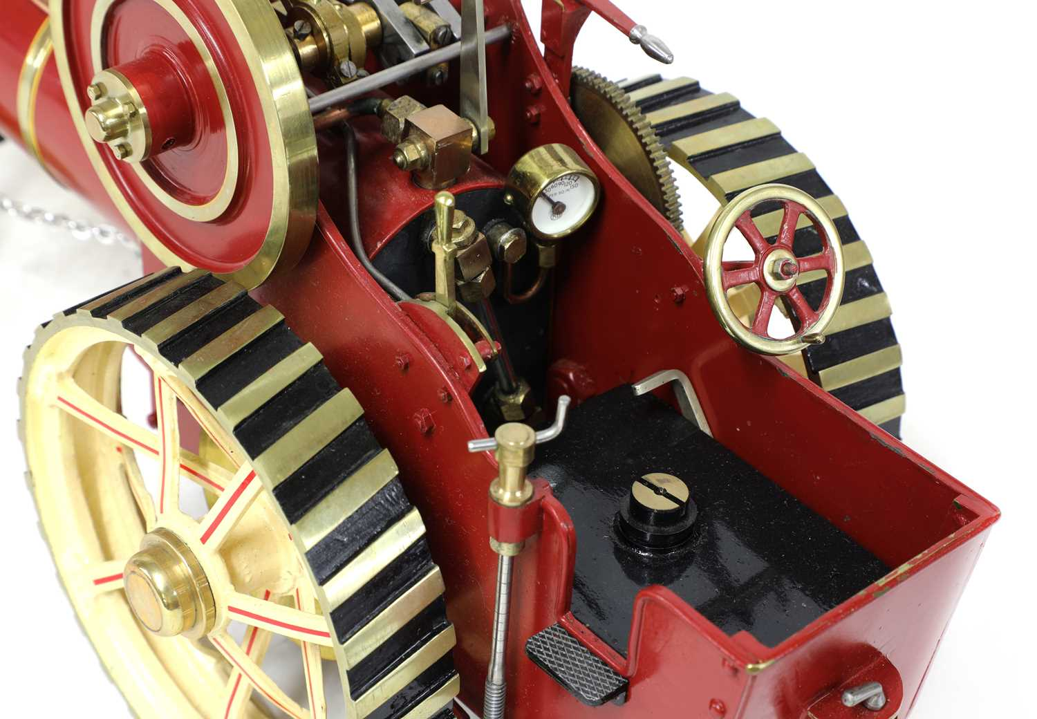 A ¾in scale model Burrell-type live steam traction engine, - Image 7 of 7