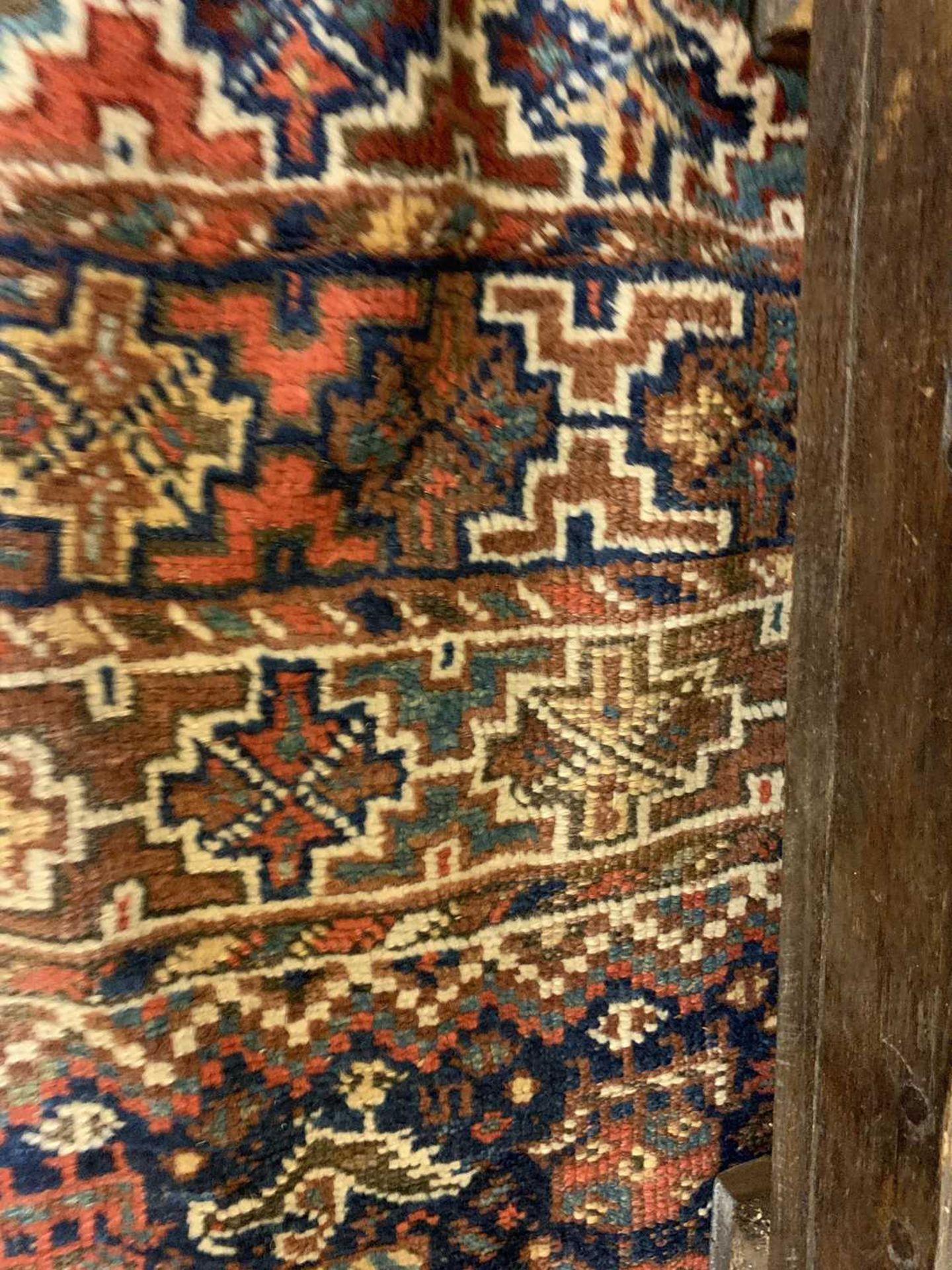 A Persian Khamseh carpet, - Image 5 of 15