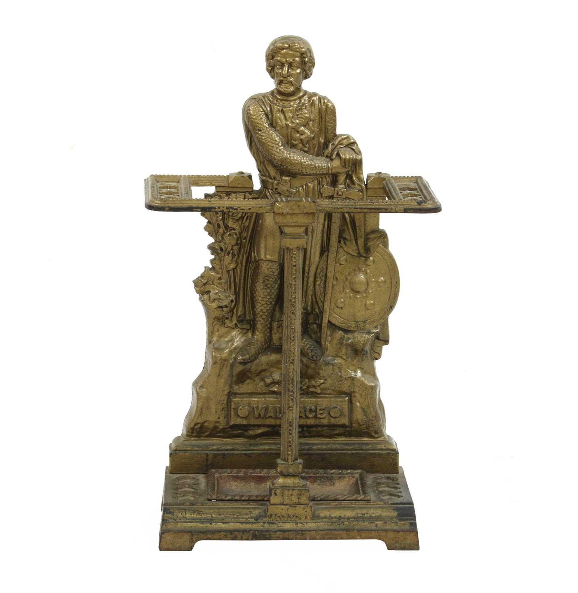 A Scottish cast iron stick stand,
