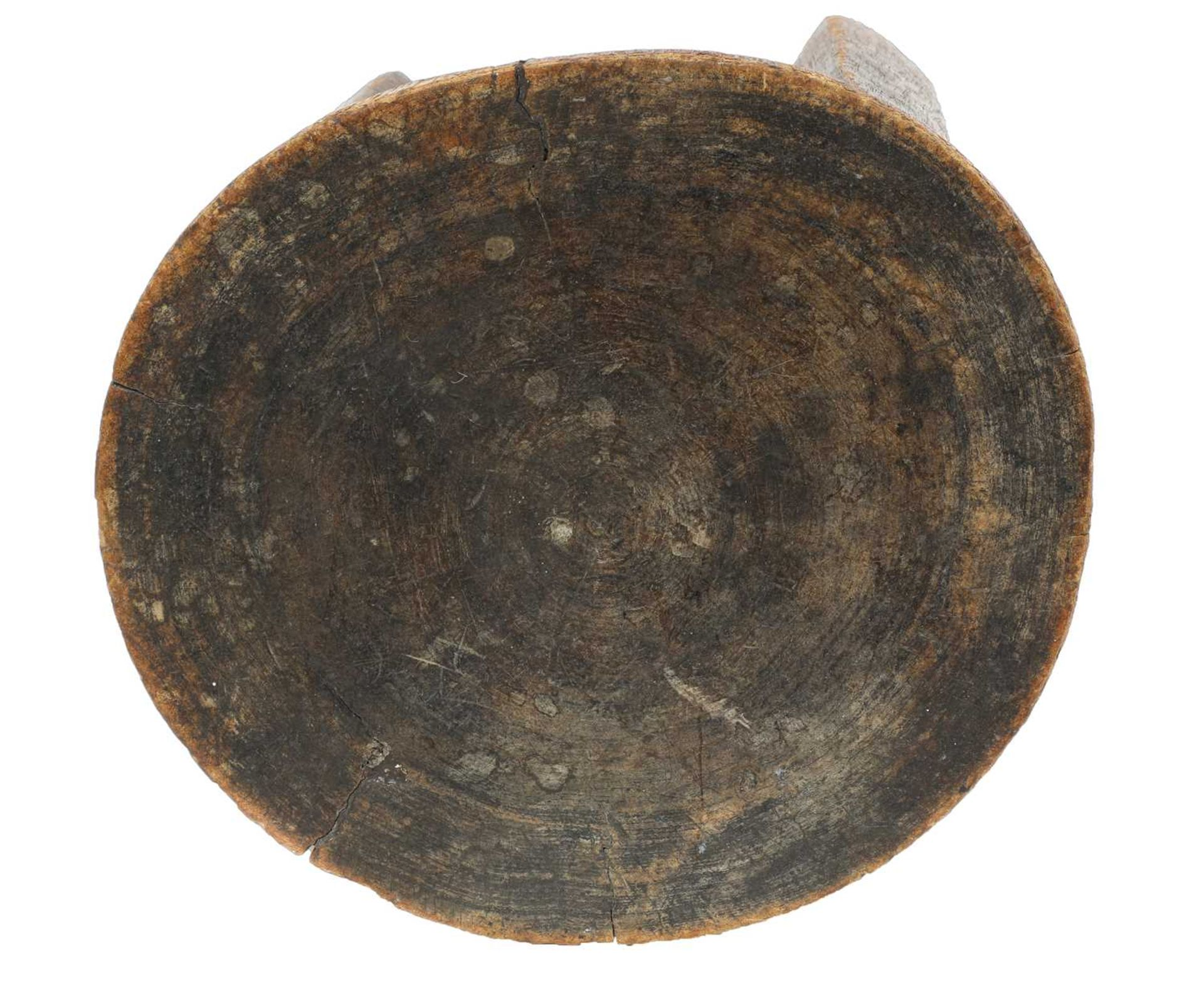 An East African tribal stool, - Image 2 of 4