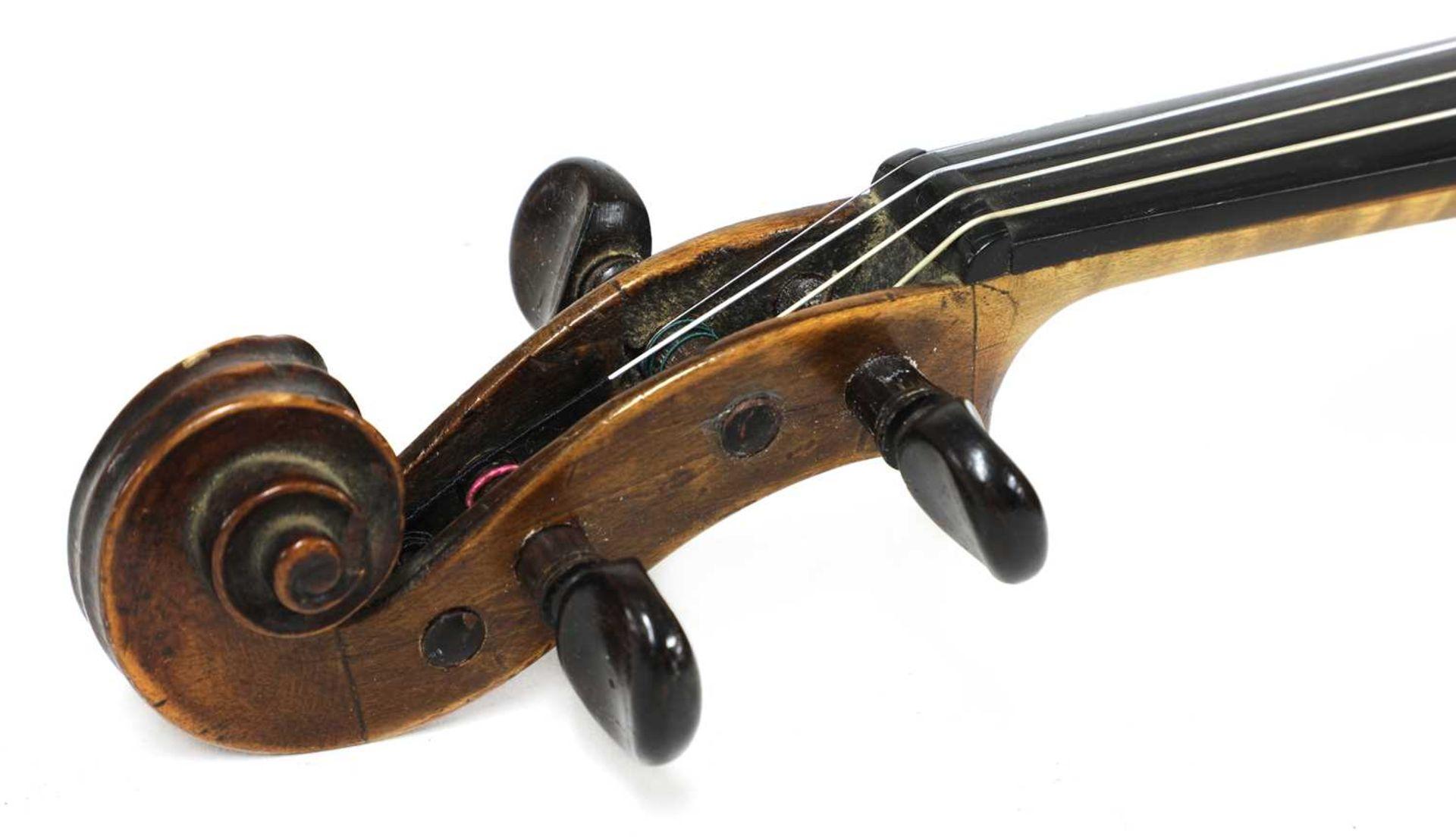 A violin, - Image 3 of 6