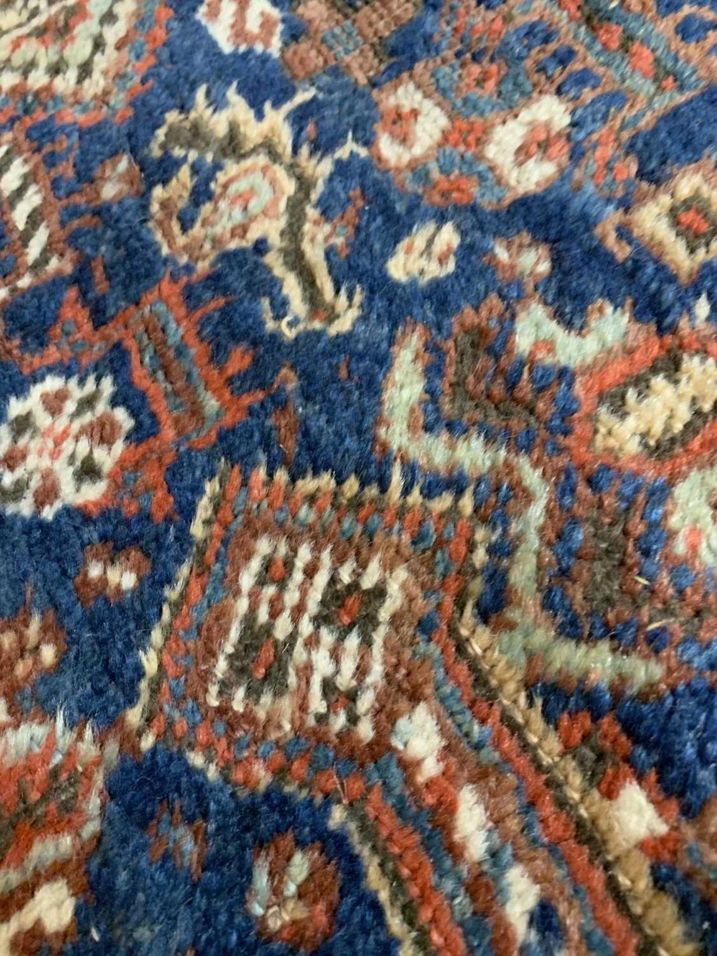 A Persian Khamseh carpet, - Image 11 of 15