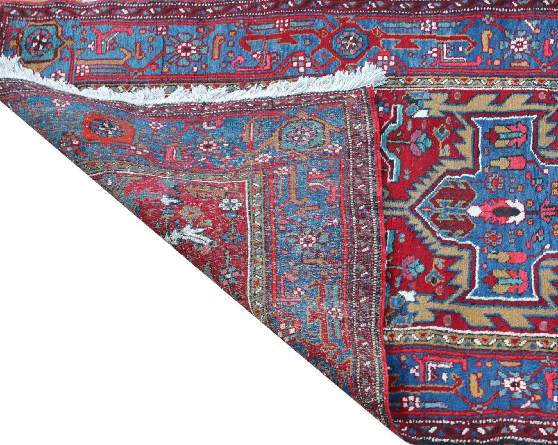 A Persian Heriz runner, - Image 3 of 3