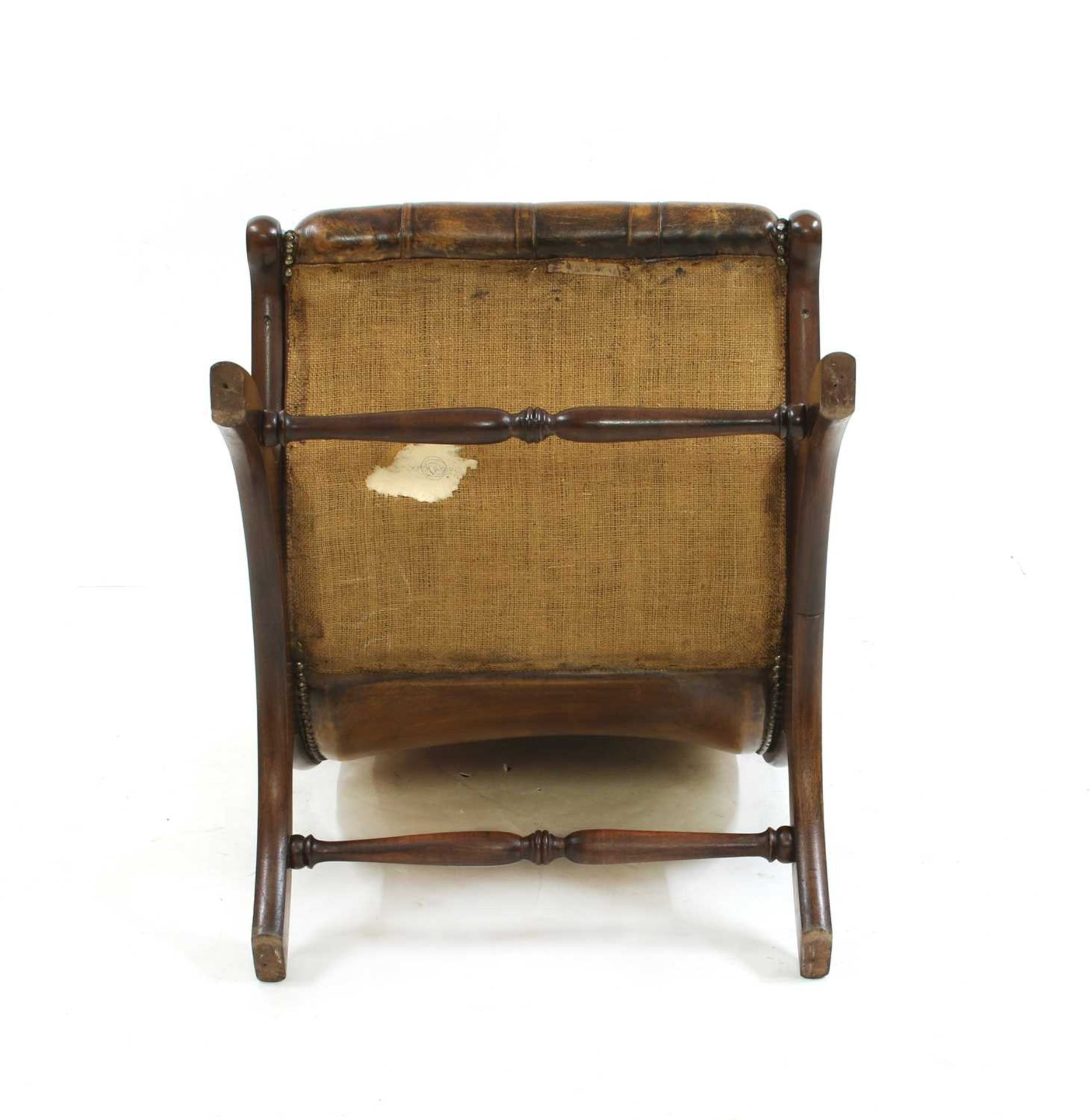 A William IV-style mahogany armchair, - Image 5 of 5