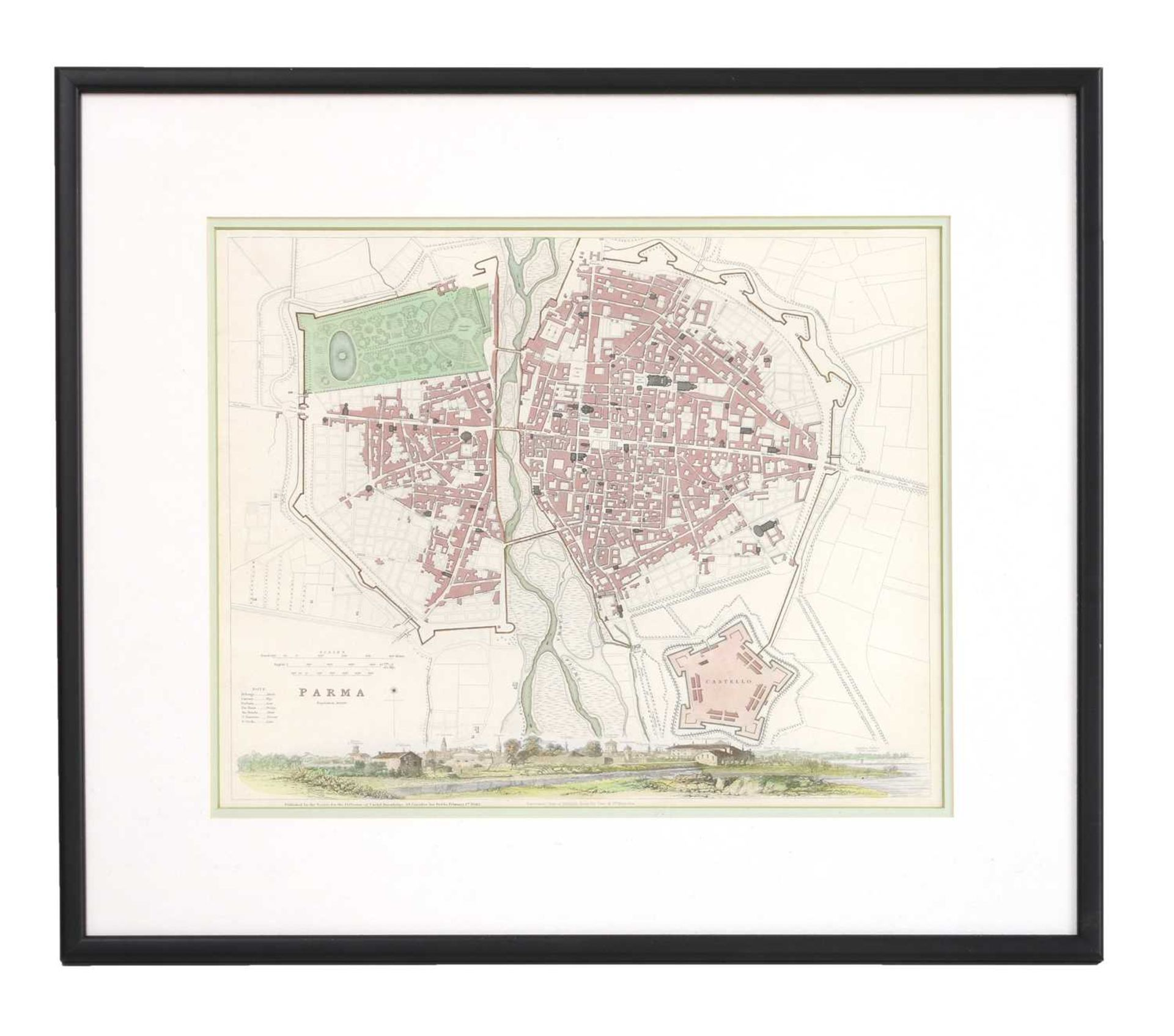 Four maps of Italian cities - Image 7 of 12