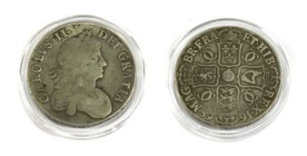 Coins, Great Britain, Charles II (1660-1685),