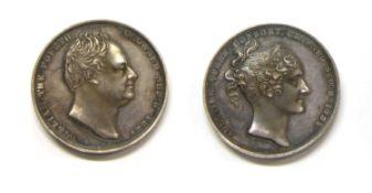 Medallions, Great Britain, William IV (1830-1837),