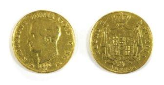 Coins, Kingdom of Italy, Napoleon I,