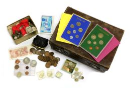 Coins, Great Britain and World,