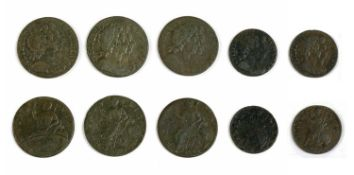 Coins, Great Britain, William and Mary (1689-1694),