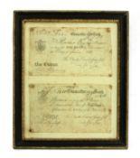 Banknotes, Great Britain, George III (1760-1820)