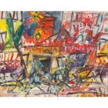 GEN PAUL (1895-1975) PARIS, LE MOULIN ROUGE Huile sur toile Signée en bas à droite Oil on canvas;
