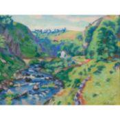ARMAND GUILLAUMIN (1841-1927) PAYSAGE DE LA CREUSE Pastel sur papier Signé en bas à droite Pastel on