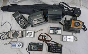SELECTION OF CAMERAS AND EQUIPMENT TO INCLUDE A MISSION TWIN REFLEX CAMERA,