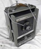 WATSON HALF-PLATE FIELD CAMERA BY BURKE & JAMES (CHICAGO) WITH EXTENSION RAIL,
