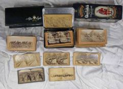 SELECTION OF STEREO CARDS TO INCLUDE UNDERWOOD & UNDERWOOD PUBLISHER MILITARY STEREOCARDS,
