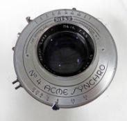 KODAK EXTAR LENS 7 1/2 INCHES (190MM) F4.