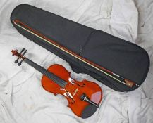 PALATINO GR1501 VIOLIN IN A FITTED CASE