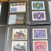 2 ALBUMS OF VARIOUS GB PRESENTATION PACKS, FIRST DAY COVERS, 1976-1980 TO INCLUDE HORSES, DOGS,
