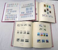 2 WINDSOR ALBUMS AND STOCK BOOK OF 1958-1990 MINT & USED GB STAMPS WITH WILDINGS & GRAPHITE SETS,