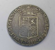 1689 WILLIAM AND MARY HALFCROWN