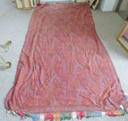 LATE 19TH OR EARLY 20TH CENTURY PAISLEY SHAWL 300 X 160CM Condition Report: